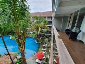 Disewakan Apartemen 3 Kamar Fasiltas Hotel di Seminyak Bali