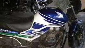 cb 150 unicorn grand prix edition white blue green three colors added