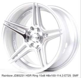 Velg mobil RAINBOW JD85231 HSR R15X8 H8X100-114,3 ET25 SMF