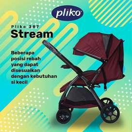 STROLLER BABY PLIKO STREAM 387