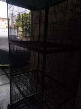 3 portion used cage