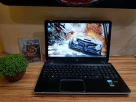 Laptop Hp DV6 gaming dan multimedia