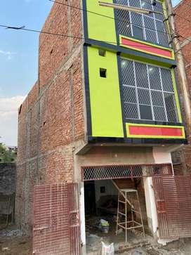 Three floor house