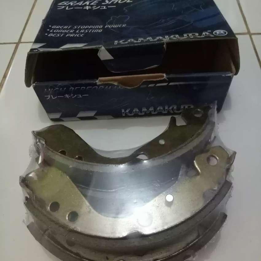 Kampas Rem belakang / Brake Shoe Honda Jazz GD3 0