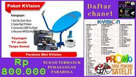Parabola mini siaran Tv Satelit