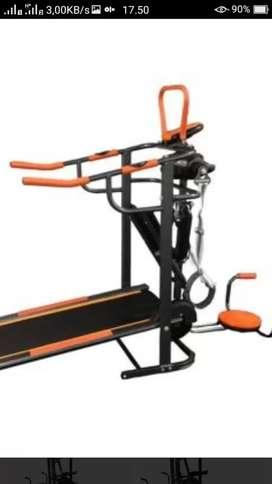 Promo baru treadmill manual 6 fungsi