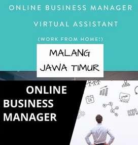 LOWONGAN KERJA > ONLINE BUSINESS MANAGER AREA MALANG JAWA TIMUR