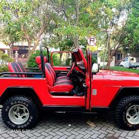 Jual Mobil CJ7 Tahun 85 Diesel 4x4