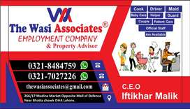 Maid Cook Driver Baby Care Patient Care Helper Available..