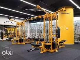 Whole Gym Set Up - All India