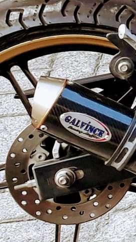 Accesoris knalpot racing vixion