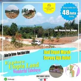 Utopia Land, Jual Tanah murah, Jual Kavling Murah, Tanah murah Bogor,