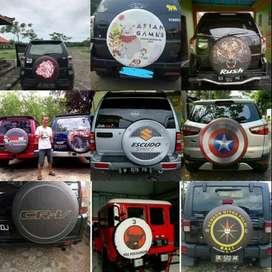 Cover/Sarung Ban Touring/Ecosport Toyota Rush/Terios/Ikhlas#dani pedro
