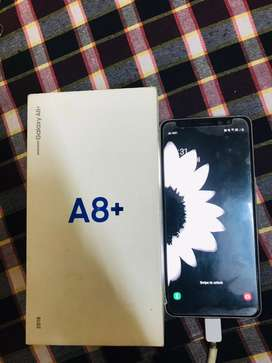 Samsung A8 plus 6gb ram fast charger