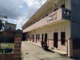 Dijual Rumah Kos 19 kamar, di jl Karya 1, dekat kampus UIR