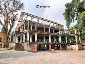 Dijual Gedung Hook 2 Muka 4 Lt di Jombor, Akses Dekat Jl. Magelang