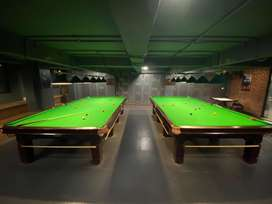 Two Snooker tables