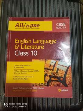English Language and Literature Class 10 All in one by Arihanth