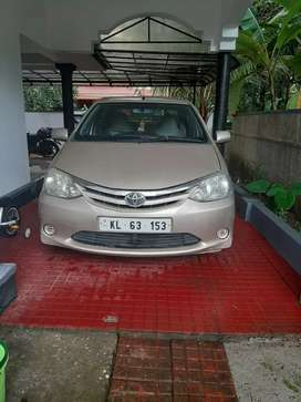 Toyota Etios Well Maintained,  company service