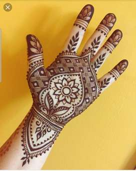 Mehndi at home