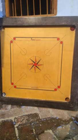 Very good condition carrom not use for 1 year.I brought for ₹8500