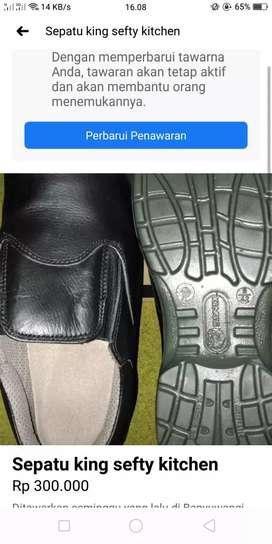 Sepatu sefty king