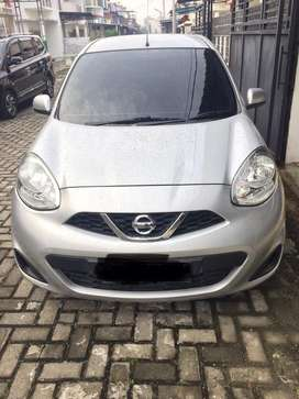 Nissan March 2017 Manual (M/T), Silver