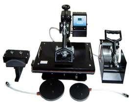 Combo heat press