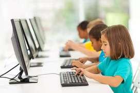 Teach computer. Advance to beginner