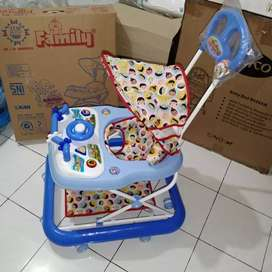 Baby walker family musik payung