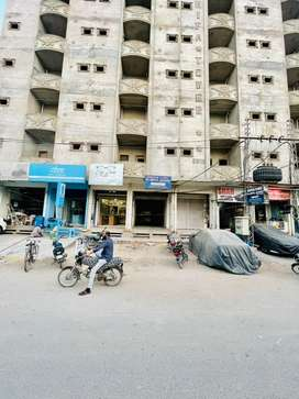 Shop Available For Rent At Prime Location Of Unit#6 Latifabad, Hyd.