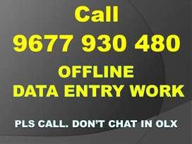 Home Based Job Mela    Part Time OFFLINE Data Entry    Call Now!!!