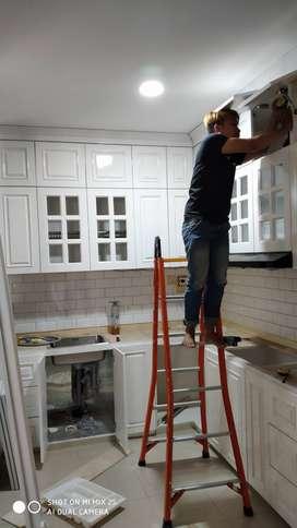 kitchen set | kitchen | kitchenset | lemari | meja | rumah / kantor