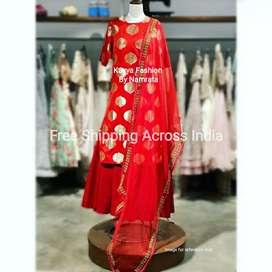 Red Ethnic Dress