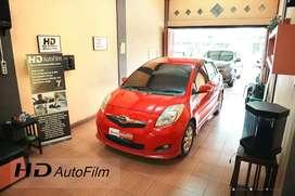Kaca film HD BLACK PREMIUM untuk mobil ukuran kecil