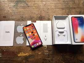 Iphone X 64Gb Space Gray Fullset Ori Aksesoris