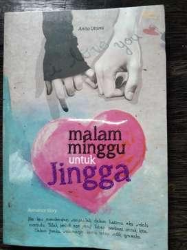 """Novel """"Malam Minggu untuk Jingga"""" karya Anita Utami"""
