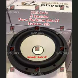 """(^.^) super deep! Subwoofer 10"""" avatar by audible physics"""