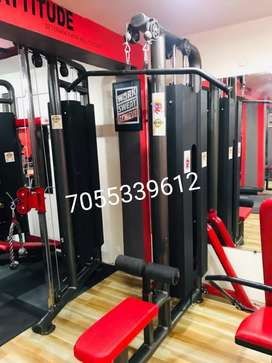 Rocky gym machines