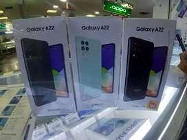 Samsung A22 6/128 original garansi resmi