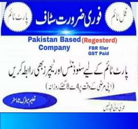 Online job for teacher and students