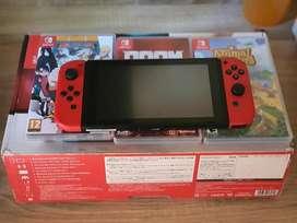 Nintendo switch v1 fullset milik pribadi