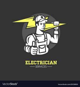 I am Electrician  and plumber .. any work contact  with me..
