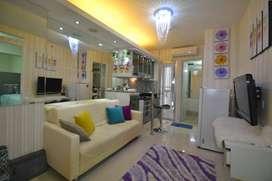 Bassura city 2BR full furnish interior bagus ex show unit