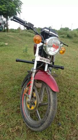 My bike is a good raider and supeer Condition