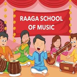 Carnatic music class and drawing class undertaken