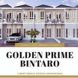 Rumah istimewa bernuansa resort mewah, di Golden Prime Bintaro