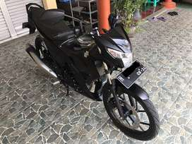 Suzuki Satria F150 Injection Black Predator Edition tahun 2019( Alarm)