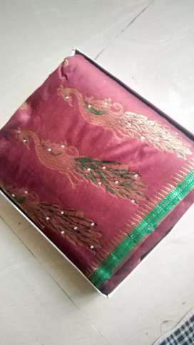 Wedding shalu(paithani) for sell