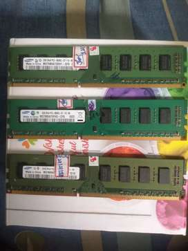 Samsung Branded ddr3 2*3=6GB RAM